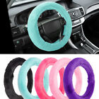 Relaxing Soft Plush Odorless Faux Wool Steering Wheel Cover for Car Truck SUV on eBay