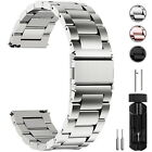 Watch Band Wrist Stainless Steel Quick Release Strap 16/18/20/22/24mm Link Belt image