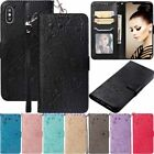 For Iphone 6s 7 8 Plus Xr Xs Max Flip Leather Wallet Card Slot Phone Case Cover