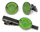 Star Wars Cufflinks, Yoda Tie Clip, Geeky Disney Wedding Groomsmen Nerd Gifts $17.95 USD on eBay