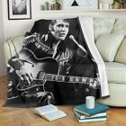 Elvis Presley Blanket Custom Printed King of Rock and Roll Music | Fast Shipping