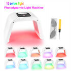 10 Colors PDT LED Light Photon Skin Rejuvenation Therapy Wrinkles Beauty Machine