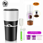 i Cafilas Unmarried Serve K-Cup Pod Coffee Maker Travel Mug Drip Coffee Cold Brew