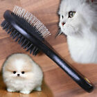 🐶🐱 High Quality Pet Brush Grooming Plastic Comb Wooden Dog Cat Hair Shedding