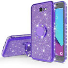 Rhinestone Soft Phone Case Cover For Phone Rotating Ring Holder Stand GIFT