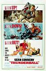 "Thunderball 1965 Movie Silk Fabric Poster 11""x17"" 24""x36"" 27""x40"" $12.1 CAD on eBay"