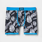 Star Wars Men's Sleep Boxer Brief * S XL * Millennium Falcon * Schematic Dream $9.54 USD on eBay