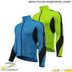 Activewear | Mens Winter Cycling Windbreaker Jacket Biker Fleece Thermal Jersey