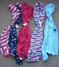 Gauze Scarf Shawl - Red, White, Blue - Patriotic- Your Choice - NEW