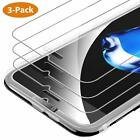 3-Pack iPhone XR 8 Plus 7 6 6s X XS MAX Screen Protector Premium Tempered Glass