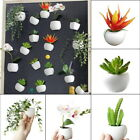 Fridge Magnets Refrigerator Decal Magnetic Sticker Artificial Plant Flower GIFT