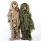 Kids Children Clothes Woodland Tactical Uniform Army Clothing Ghillie Suit GeelyGhillie Suits - 177870