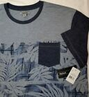 Method brand Short Sleeve Tee Shirt in Chambray Heather w/front pocket ~ NWT