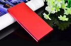 50000mAh Power Bank 2USB External Ultrathin Metal Battery Charger For iPhone XS