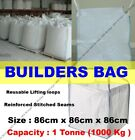 1 Ton Bulk Bag Builders & Garden Rubble Sack FIBC Tonne Jumbo Waste Storage Bag