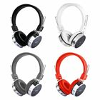 XK-B06 Bluetooth Headset Headphone With Glaring Light Support TF Card FM RadioW8