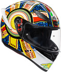 AGV Adult K-1 Dreamtime Full Face Motorcycle Helmet DOT ECE 2019 Sport Touring