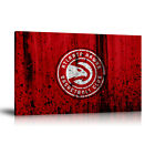 HD Print Oil Painting Home Decor Art on Canvas Atlanta Hawks Flags Unframed on eBay