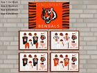HD Print Oil Painting Home Decor on Canvas Cincinnati Bengals 5PCS/SET Unframed $25.0 USD on eBay
