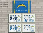 HD Print Oil Painting Home Decor on Canvas San Diego Chargers 5PCS/SET Unframed $30.0 USD on eBay