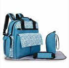 Mummy Convertible Diaper Backpack Large Maternity Changing Bag Stroller Strap