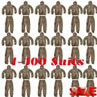 1-100X Camo Camouflage Clothing Leafy Woodland Hunting Camo Jungle Suit LOT BE