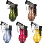 Windproof Cigarette Lighter Butane Inflatable Gas Torch Fuel Jet Flame NO Fuel