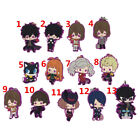 Anime persona 5 Rubber Keychain Key Ring Straps Rare cosplay