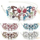 New Fashion Crystal Rhinestones metal butterfly Headband head-wear Accessories