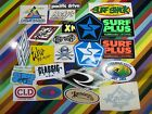 vtg 1980s Asstd. surf street sticker - Sessions Rocky's Lassen Surf shops +