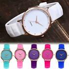 Luxury Women Ladies Watch Cute Silicone Strap Casual Analog Quartz Dress Watches