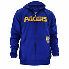 Men's NBA Indiana Pacers Full-Zip Jacket by Hardwood Classics in Blue Big on eBay