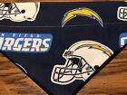 San Diego Chargers NFL Over The Collar Dog Bandana $7.5 USD on eBay