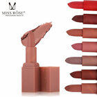 MISS ROSE Matte Lipstick Matte Long Lasting Lip Gloss Beauty Makeup Waterproof