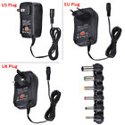 Universal AC / DC 3-12V Power Supply Adapter Charger Transformer with 6 Tips BT