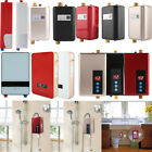 110V-220V Mini Instant Electric Tankless Hot Water Heater Shower Kitchen Bath