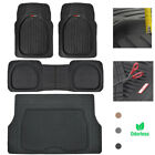 Motor Trend Car Floor Mats w/ Cargo Trunk Rubber Protection Full Set Heavy Duty $49.50 USD on eBay