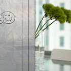 Static Cling 3D Frosted Flowers Glass Window Film Removable Privacy Covering