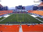 (2) Steelers vs Ravens Tickets Lower Level Under Cover!! (Hard Tickets)