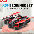 Folding Drone RC Quadcopter Syma X56W FPV WIFI Camera Flight Track Headless Mode