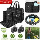 1 set Baby Diaper Bag Larger Mummy Bag Mommy Nappy Changing Handbag Tote US