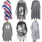 Barber Gown Cape Apron Waterproof Hairdressing Hair Cutting Salon 6 Color