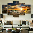 Modern Wall Painting On Canvas Sunrise Floral Decorative Painting Home Decor Art