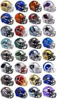 NFL Chrome Mini Helmets - Pick Your Team $40.0 USD on eBay