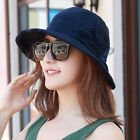 Women Cotton And Linen Sun Protection Bucket Hat Outdoor Breathable Fishing Hat