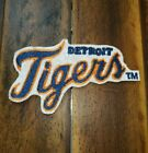 Patch Iron-On or Sew-On Detroit Tigers Tiger Logo Embroidered Applique on Ebay