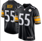 Devin Bush #55 Pittsburgh Steelers Stitched Jersey Brand New 2019 S to 3XL