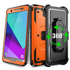 For Samsung Galaxy J7 2017 Prime Sky Pro Halo Belt Clip Holster Armor Case Cover