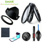 Filter kit CPL ND UV / Lens hood / Adapter ring / Cap / Cleaning Pen for Canon