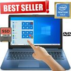 Hp 15.6 Hd Touchscreen 2tb Hd 8gb Ram 3.70ghz Amd Dualcore Dvd+rw Windows Laptop
